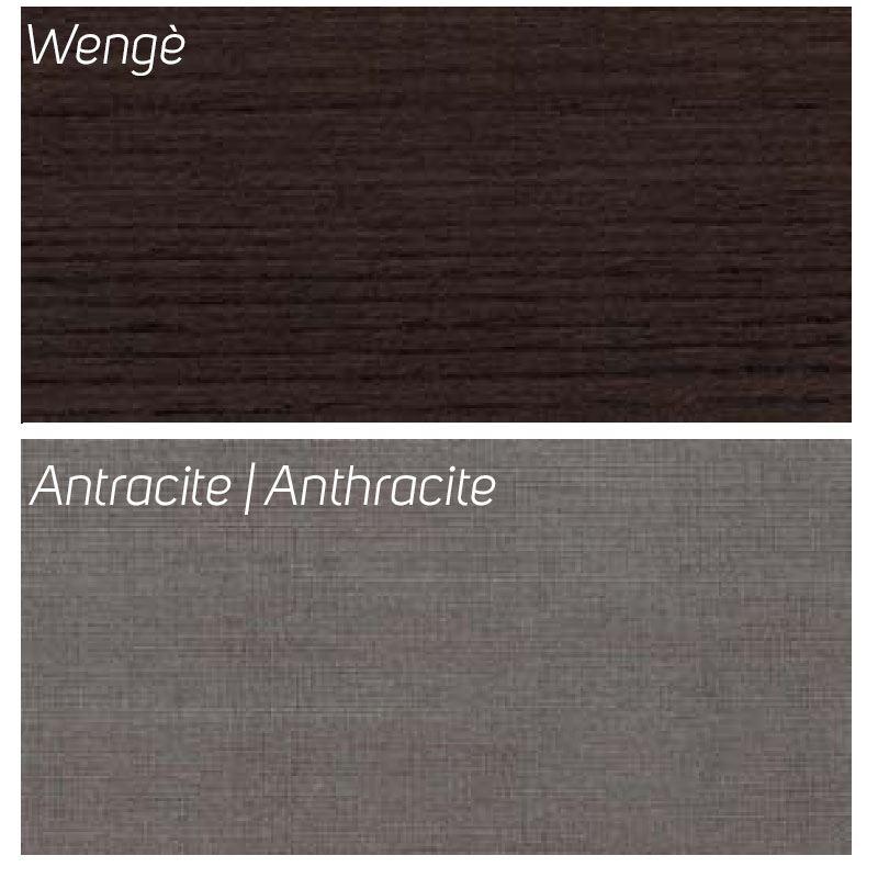 Wengè / Antracite