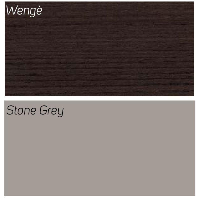 Wengè / Stone Grey