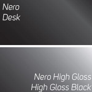 frontale in vetro NERO / top+schiena+fianchi finale NERO NATUR MAT