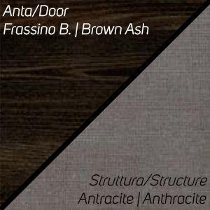 Frassino Brown / Antracite