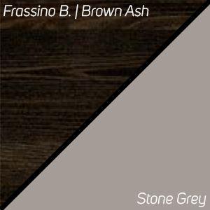 Frassino Brown / Stone Grey