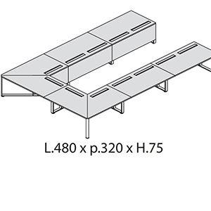 L.480 x p.320 x H.75 APERTO [+€1050,00]