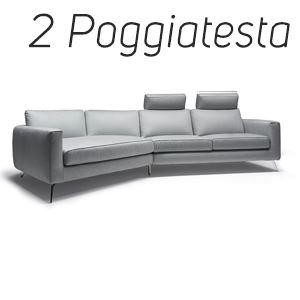 2 Poggiatesta in Tinta [+€228,00]