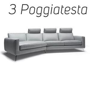 3 Poggiatesta in Tinta [+€342,00]