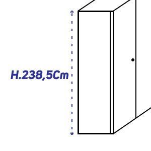 H.238,5Cm [+€159,00]