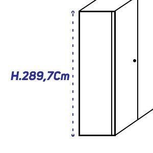 H.289,7Cm [+€263,00]