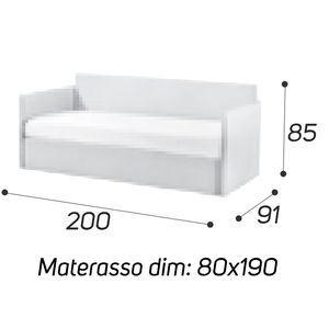 Angolo Alto - M: 80x190