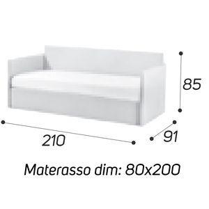 Angolo Alto - M: 80x200 [+€69,00]