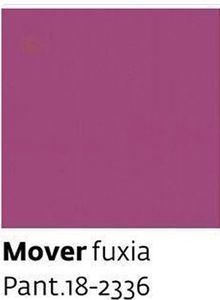 Mover fuxia Pant.18-2336