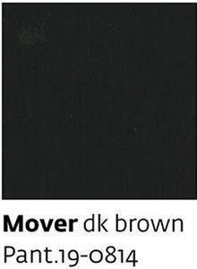 Mover dk brown Pant.19-0814