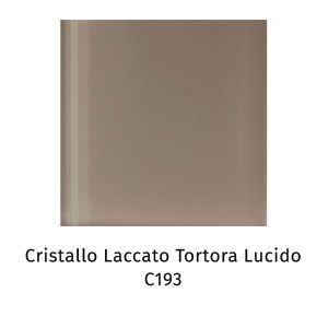 Cristallo laccato tortora lucido C193