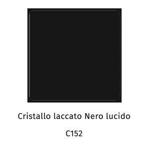 Cristallo laccato nero lucido C152