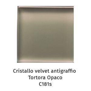 Cristallo Velvet antigraffio tortora opaco C181S [+€134,00]