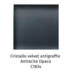 Cristallo Velvet antigraffio antracite opaco C183S [+€134,00]
