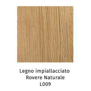 Legno Impiallacciato rovere naturale L009 (Sp.2,5cm) [+€189,00]