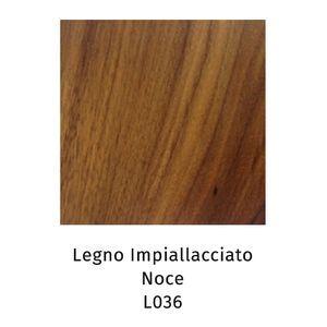Legno Impiallacciato noce L036 (Sp.2,5cm) [+€347,00]
