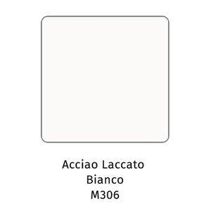 Acciaio laccato bianco M306