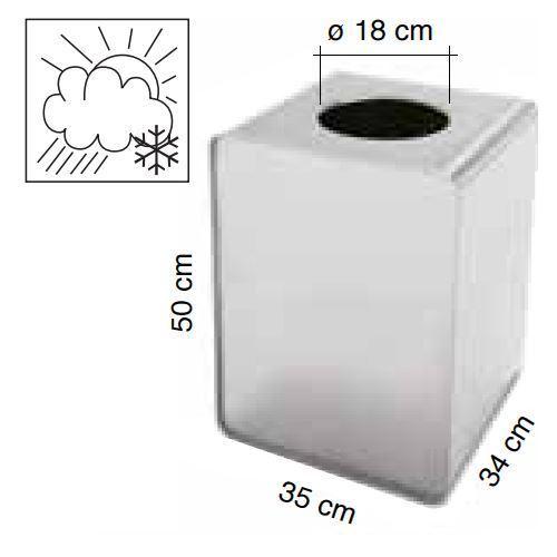 Altezza 50cm [+€114,00]