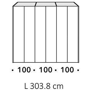 Lunghezza 303,8Cm