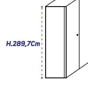 H.289,7Cm [+€160,00]
