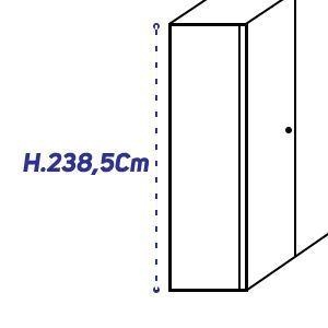 H.238,5Cm