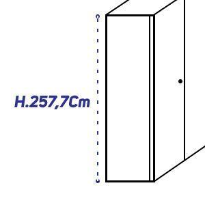 H.257,7Cm