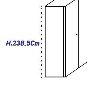 H.238,5Cm [+€510,00]