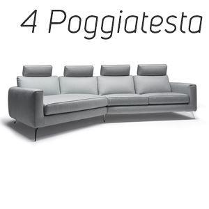 4 Poggiatesta in Tinta [+€496,00]