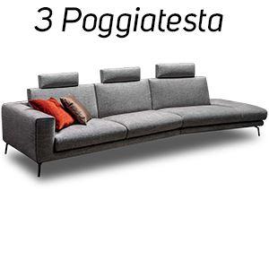 3 Poggiatesta in Tinta [+€309,00]