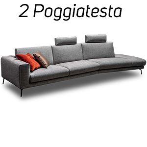 2 Poggiatesta in Tinta [+€244,00]