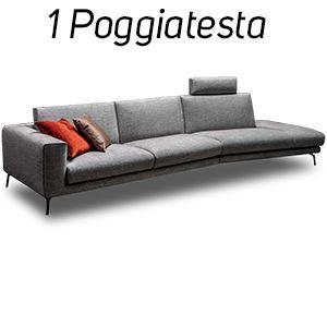 1 Poggiatesta in Tinta [+€122,00]