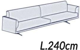 Larghezza 240Cm [+€200,00]