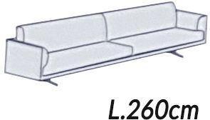 Larghezza 260Cm [+€320,00]