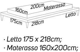 L: 175 x 218 - M: 160 x 200
