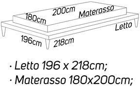 L: 196 x 218 - M: 180 x 200 [+€163,00]