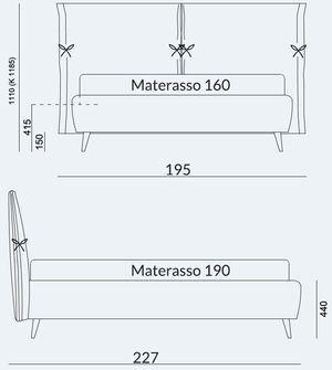 Materasso 160x190