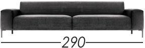 Lunghezza 290cm [+€265,00]