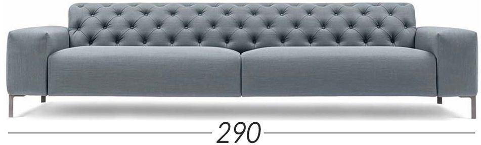 Lunghezza 290cm [+€360,00]