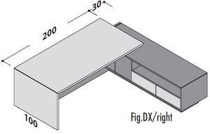 Lunghezza 230cm DX