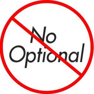 Non ho bisogno di Optional
