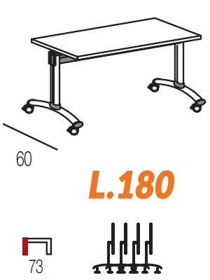 Lunghezza 180cm [+€94,00]