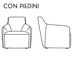 Poltroncina con Piedini [+€16,00]